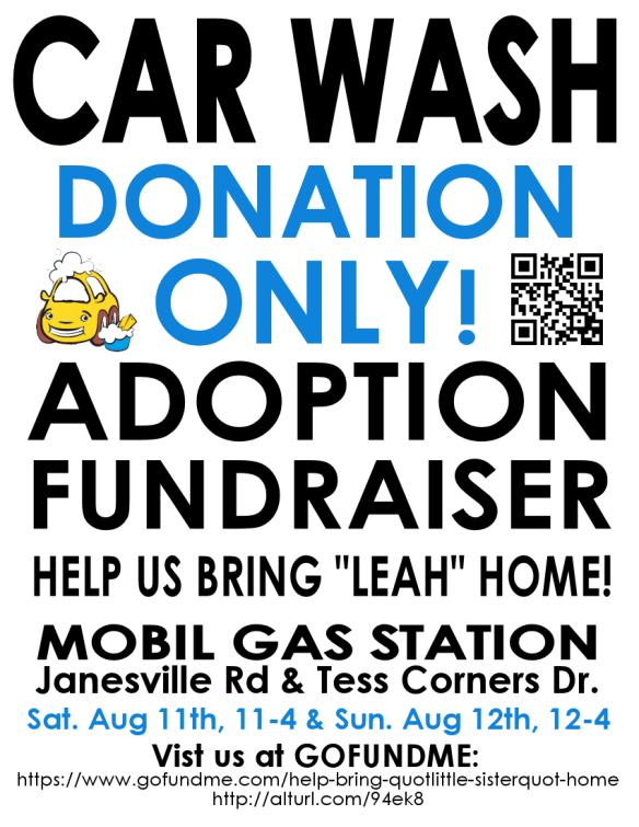 Car Wash 1 - flyer